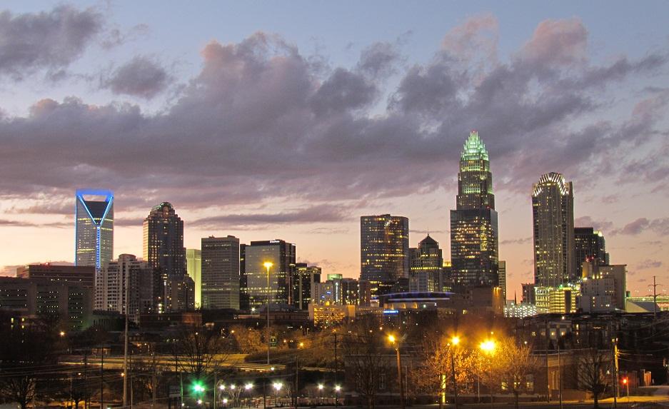 Charlotte skyline 2011   ricky w